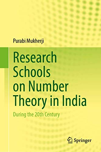 Research Schools on Number Theory in India: During the 20th Century