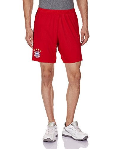 adidas Kinder Shorts FC Bayern München Heim Replica Fußballshorts, FCB True Red/Craft Red, 176