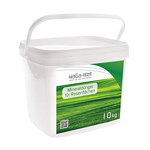Fertilizante mineral para césped, abono NPK (10 kg)