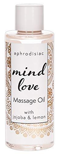 ORION Mind Love India-Massage-Öl 100 ml - hochwertiges Öl für Partnermassage, Massagegel mit pflegendem Jojoba-Öl, wasserlöslich, langanhaltend (Massage Öl)