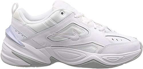Nike Herren M2k Tekno Fitnessschuhe, Weiß (White/White/Pure Platinum 101), 44 EU