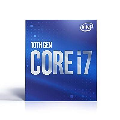 Intel Core i7-10700 Desktop Processor 8 Cores up to 4.8 GHz LGA 1200 (Intel 400 Series Chipset) 65W, BX8070110700