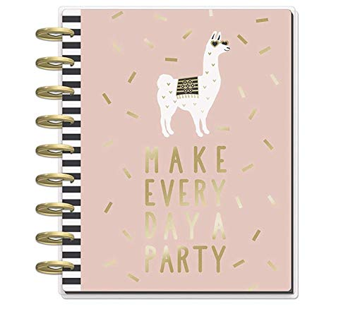me & my BIG ideas The Happy Planner - Gold Getter Theme - July 2018 to December 2019 - Vertical Layout - Weekly & Monthly Disc-Bound Pages - Scrapbook - Classic Size