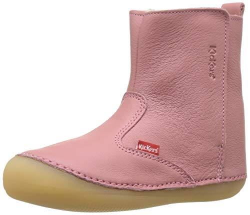 Kickers Unisex Baby Socool Cho Stiefel, Pink (Rose Antique 132), 23 EU