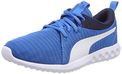 Puma Unisex-Kinder Carson 2 Jr Sneaker,Blau (Indigo Bunting-Puma White), 37 EU