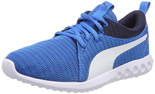 Puma Unisex-Kinder Carson 2 Jr Sneaker,Blau (Indigo Bunting-Puma White), 38 EU