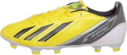 adidas F10 Trx Fg, Scarpe da calcio uomo, Giallo (Gelb (VIVID YELLOW S13 / BLACK 1 / GREEN ZEST S13), 40