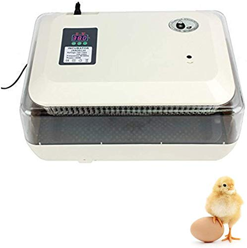 Iglobalbuy 24 Pollo Digital Incubadora de Huevo Hatcher Suministro de