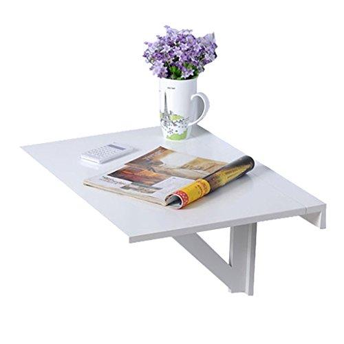 Peaceip Pli de la table murale Pli de la table murale rectangle Rectangle de la table murale simple Planche de mur de la cuisine de ménage simple Pliante table pliante, cuisine et table à manger, bure