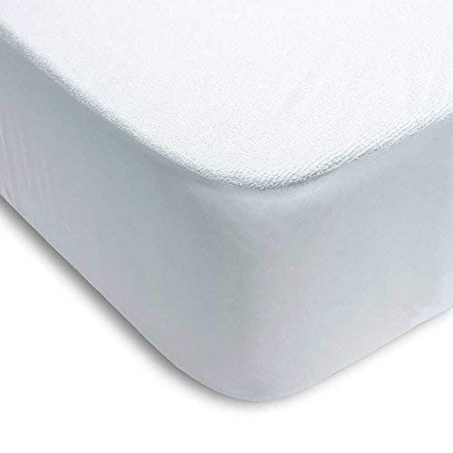 CONFORTEX - Protector de colchón Impermeable Rizo/PVC...