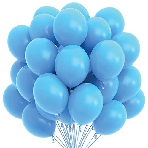 big light blue balloons - 3