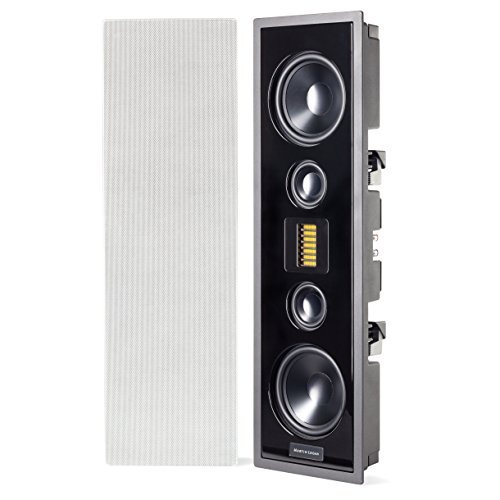 %15 OFF! MartinLogan - Edge - High Performance In-Wall Speaker - Each - White