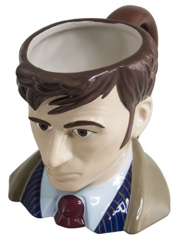 Doctor Who Tenth Doctor Collectors Ceramic 3D Mug (DR205)