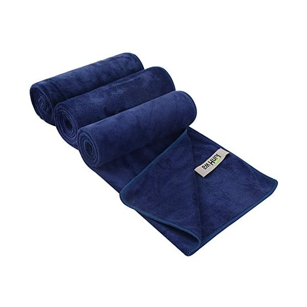 KinHwa Microfiber Sports Gym Towel Fast Drying Fitness Sweat Towels Multi-Purpose...