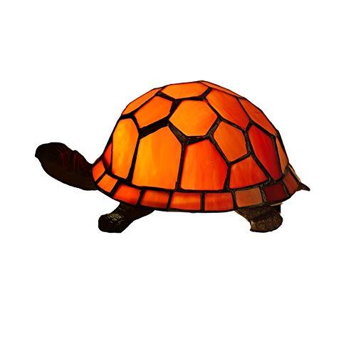 Yiyu Europäische Kreative Bunte Schildkröte Schildkröte Hahnrei Tischlampe Kinderlampe Nachtlicht x (Color : 2)