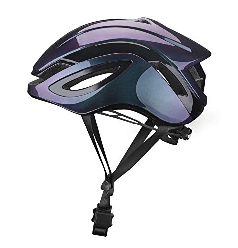 ROCKBROS Fahrradhelm MTB Rennradhelm Erwachsene Integrierter Helm für Damen Herren PC+EPS Magnetschnalle M (54-59cm)/L(58-63cm)