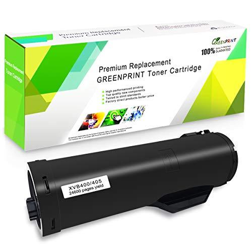 Kompatible Tonerkartusche B400 Schwarz GREENPRINT 24600 Seiten mit besonders hoher Kapazität für Xerox VersaLink B400 B400n B400dn B405 B405dn Laserdrucker