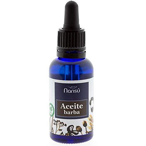 Aceite para el cuidado de la barba/Bigote del hombre - Acondicionador Suavizante - producto prograso ecológico con aroma cítrico