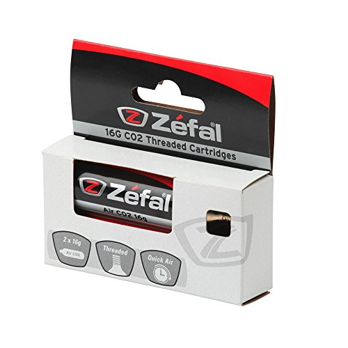 ZEFAL CO2 16g Blíster 2 Cartuchos