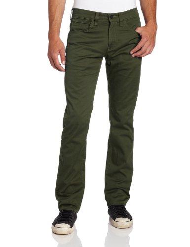 Levi's 513 Pantalon pour homme - Vert - 29 W/32 L