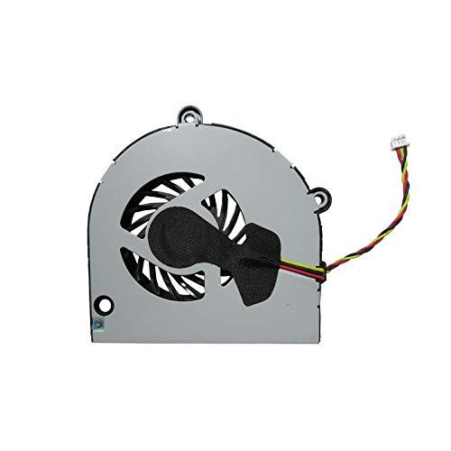 UTS-Shop Ventilador de procesador compatible con Toshiba P750, P750D, P755, P755D, L675, L675D, L670, C660, A660, A665D, A665, Acer Aspire 5251, 5551, 5252, 5741