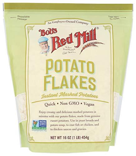 BOBS RED MILL Idaho Potato Flakes Instant Mashed Potates, 16 OZ