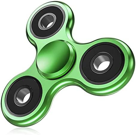 ATESSON Fidget Spinner EDC ADHD Stress Relief Reducer Toys Metal Hand Spinners High Speed Stainless product image