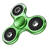 ATESSON Fidget Spinner EDC ADHD Stress Relief Reducer Toys, Metal Hand Spinners High Speed Stainless Steel Bearing Anxiety Finger Toys for Kids Adults