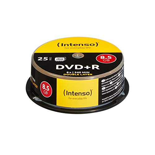 Intenso DVD+R Double Layer Rohlinge,...