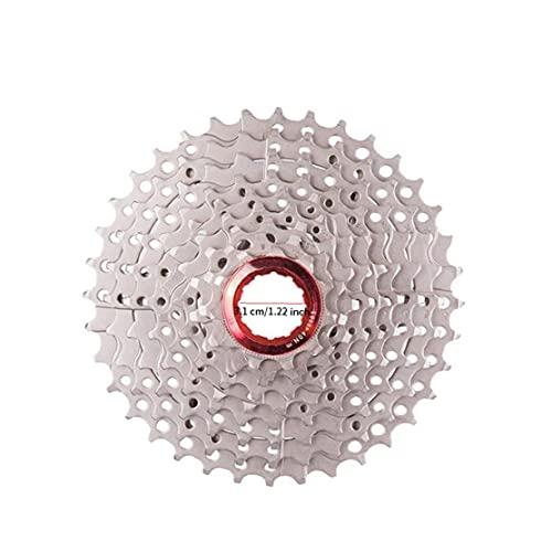 9 Speed ??Cassette 11-36T bicicleta de montaña Rueda de ruedas dentadas Amplia Relación pieza de la bicicleta de ciclo de reemplazo flexible y durable de la bicicleta del montar