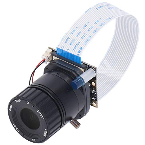 OV5647 Kamera für Raspberry Pi Manueller Fokus 2592x1944 HD-Kameramodul RPI-Auto-IR Cut für Raspberry Pi-System