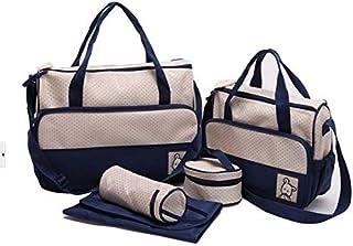 5 pcs Fashion mom bags