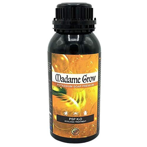 MADAME GROW Jabón Potásico para Marihuana Potasium Soap Premium El Mejor remedio Natural contra Insectos y plagas para tú Planta de Cannabis (500 ml)