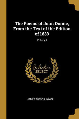 POEMS OF JOHN DONNE FROM THE T