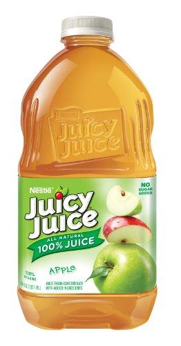 Juicy Juice Apple Juice, 64-Ounce Pet Bottles (Pack of 8)