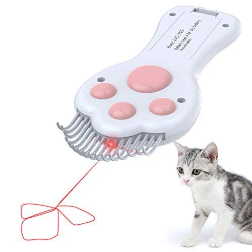DADYPET Spielzeug für Katzen, elektrisches Katzenspielzeug, Katzenkamm, 2 in 1...