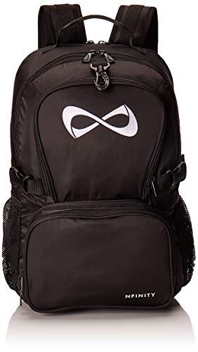 Black Classic Backpack - White Logo