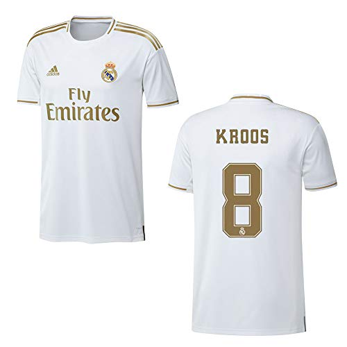 adidas REAL Madrid Trikot Home Kinder 2020 - KROOS 8, Größe:152