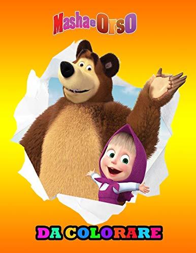 Masha e Orso da colorare: Libro da Colorare Bambini 3 - 8 Anni: Tutti felici con questo libro da colorare di Masha e Orso, i personaggi molto amati dai Bambini.