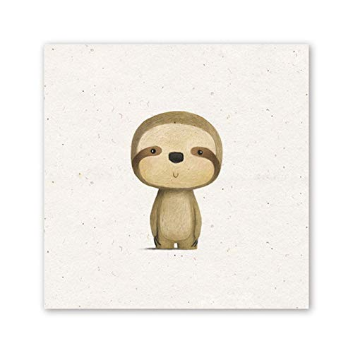 XWArtpic Cute Nordic Baby Lovely Little Animal Cartoon