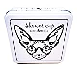 Kotomoda Shower Caps for Sphynx Cats and Other Hairless Cats in a Tin Gift Box