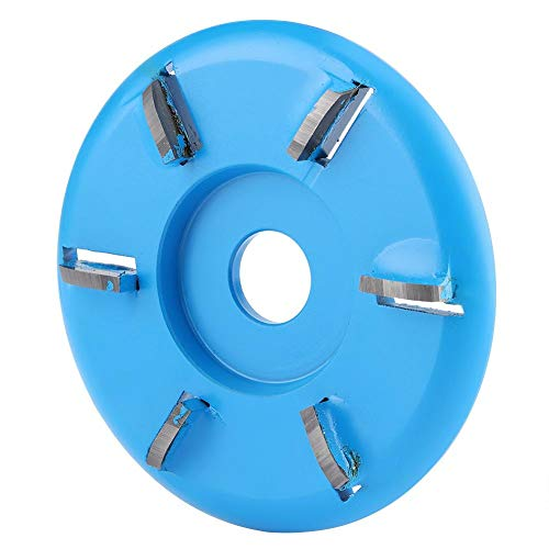 Yasashi Six Teeth Wood Carving Disc Milling Disk Woodworking Tea Tray Engraving Tool Router Solid Surface Bits