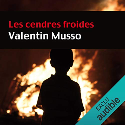 Les cendres froides audiobook cover art