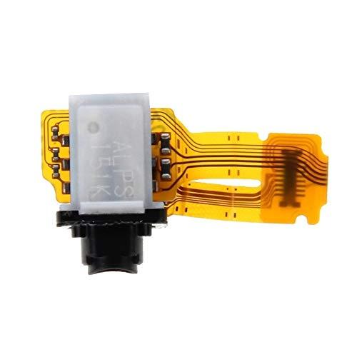 No Logo Piezas de Repuesto para teléfonos móviles Cable Flexible for Conector de Auriculares Compatible con Sony Xperia Z3 + Accesorios para Celular