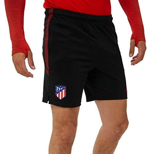 NIKE ATM M Nk Dry Strk Short Kz, Hombre, Black/Challenge Red/Challenge Red, S