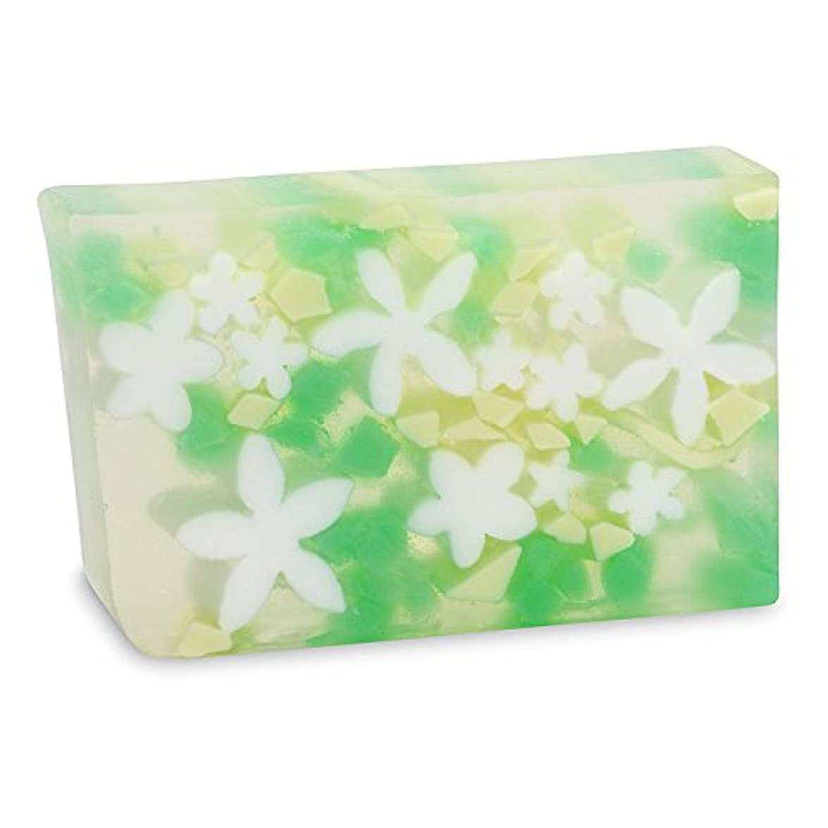 目覚める浸透する作詞家Primal Elements SWPLU Plumeria 5.8 oz. Bar Soap in Shrinkwrap