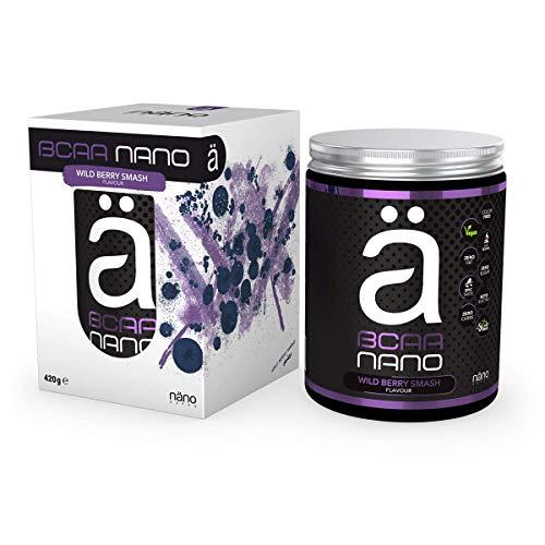 Nano Supps BCAA Nano, Wildberry Smash, 420 g