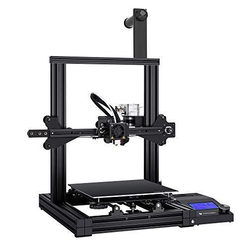 ANYCUBIC Mega Zero 3D プリンター 高精度 印刷サイズ220*220*250mm 操作簡易 家庭用 初心者/学校等向け (ブラック) (Mega Zero)