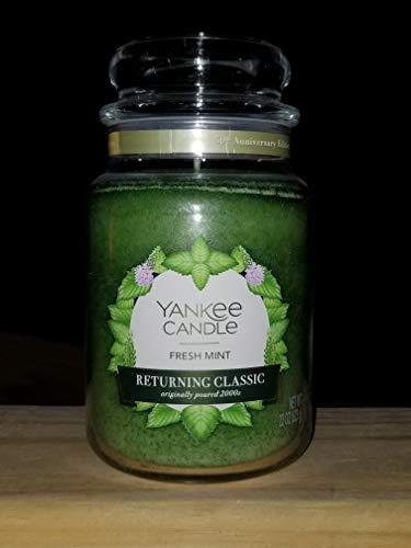 Yankee Candle Returning Classic Fresh Mint Large Jar