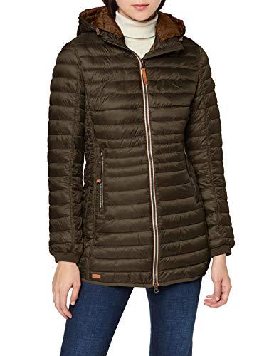 camel active Womenswear Damen 2X44 Jacke, Braun (Brown 79), (Herstellergröße:46)